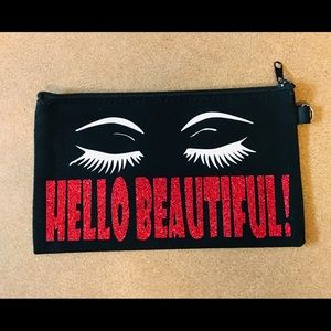 Makeup bag carrying case Black NEW